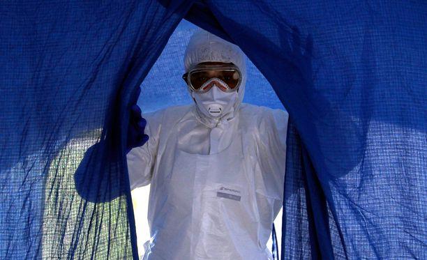 WHO:n mukaan tauti leviää rajusti Sierra Leonessa.
