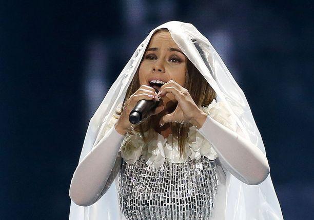 Albanian Linditan Euroviisuveto on rakkaudentäyteinen.