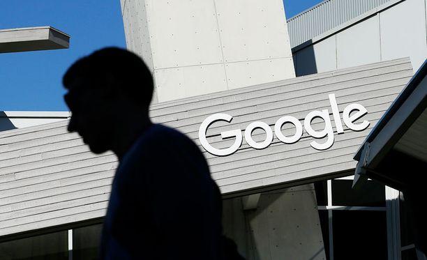 Googlen pääkonttori Yhdysvaltojen Kaliforniassa.