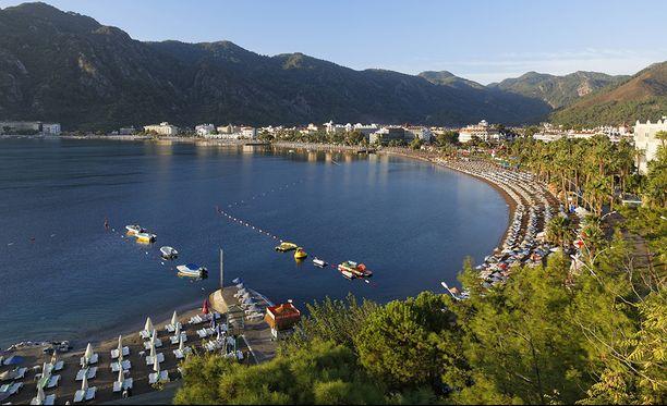 Marmaris on Turkin suosituimpia turistikohteita.