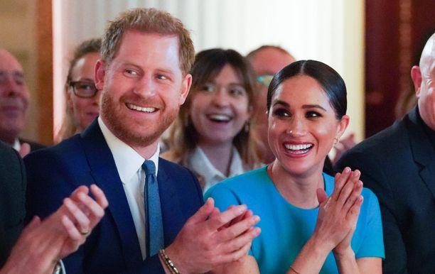 Pohjois-Amerikassa tätä nykyään asuvat prinssi Harry ja herttuatar Meghan ovat hiljattain asettuneet Kaliforniaan, kertoo People. Kuvassa aviopari Lontoossa 6.3.2020.