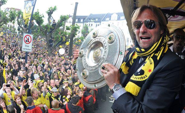 Jürgen Klopp on valmentanut Dortmundia vuodesta 2008.
