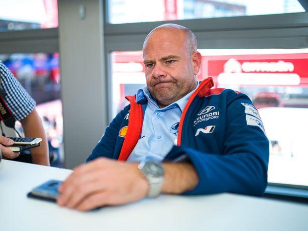 Hyundai-pomo Andrea Adamolla on ensi kaudella tallissaan todellinen unelmamiehitys.