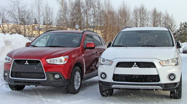 UUSIN Tuorein Mitsubishi on viime vuonna esitelty ASX-crossover. Nyt sitä siis saa Deltasta.