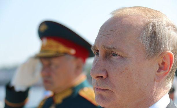 Presidentti Vladimir Putin kerskui superohjuksen ominaisuuksista maaliskuussa.