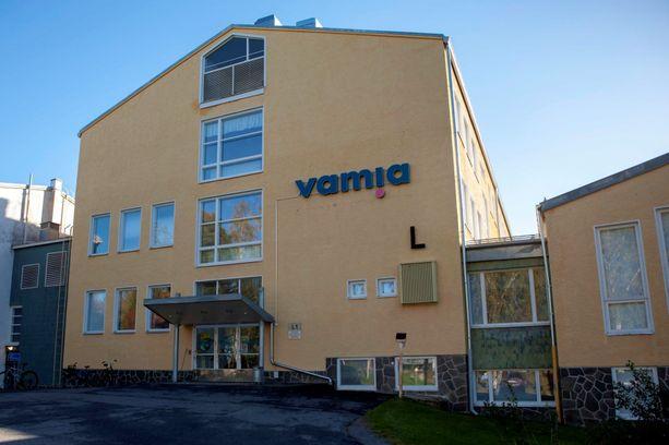 Veriteko sattui Vamian Sampo-kampuksella koulupäivän aikana.