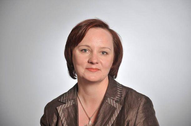 Keskustan Anne Kalmari sai paljon ääniä Keski-Suomessa.