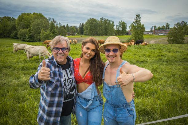 Mikko Alatalo ja Mr. Zeus tekivät yhdessä kappaleen.