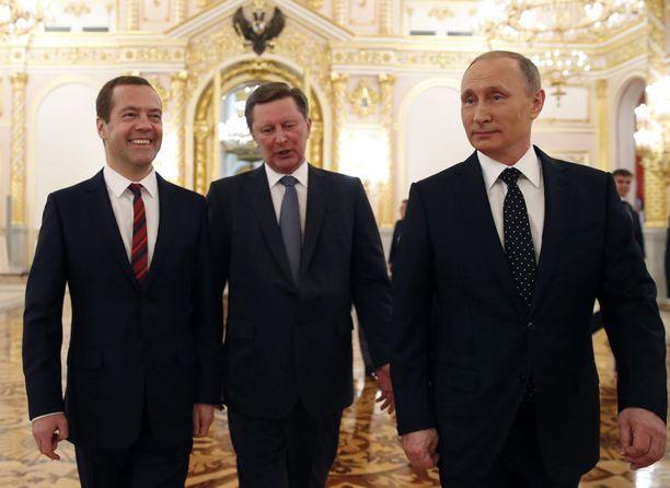 Dmitri Medvedev on koulittu toimimaan mahdollisimman samankaltaisesti Putinin kanssa.