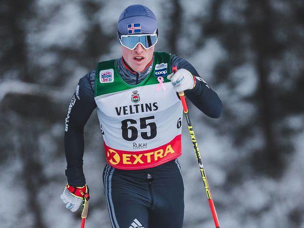Snorri Einarsson ei ollut aivan terävimmillään lauantaina Rukalla. Kuva vuodelta 2018