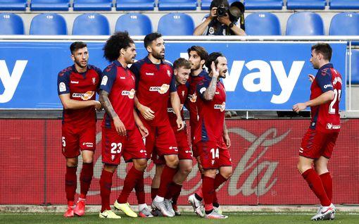 Sevillassa Osasuna osaa puolustaa – Real Betisin suosikkiasema hämmentää