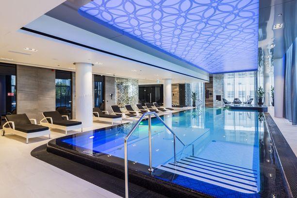 Hilton Tallinn Parkista löytyy myös spa-osasto ja saunatilat.