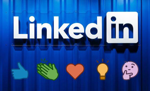 Uudet reaktiot saapuvat LinkedIniin.