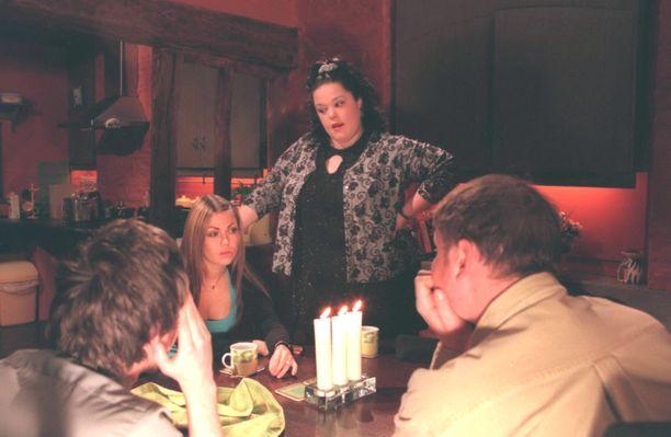 Vuonna 2000 Emmerdale-sarjassa.