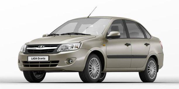 Lada Granta on toistaiseksi tärkein Lada-malli.