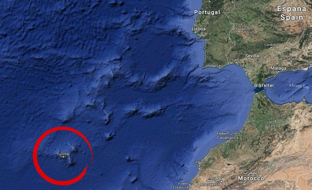 Madeiran saarella kateissa ollut mies on löytynyt kuolleena.