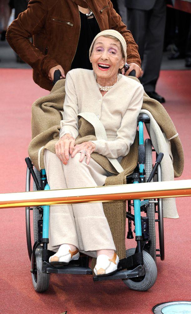Luise 101-vuotiaana Berliinissä vuonna 2011.