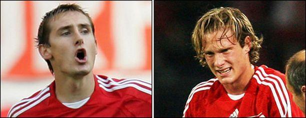 Miroslav Klose ja Marcell Jansen vahvistavat Bayernin germaaniosastoa.