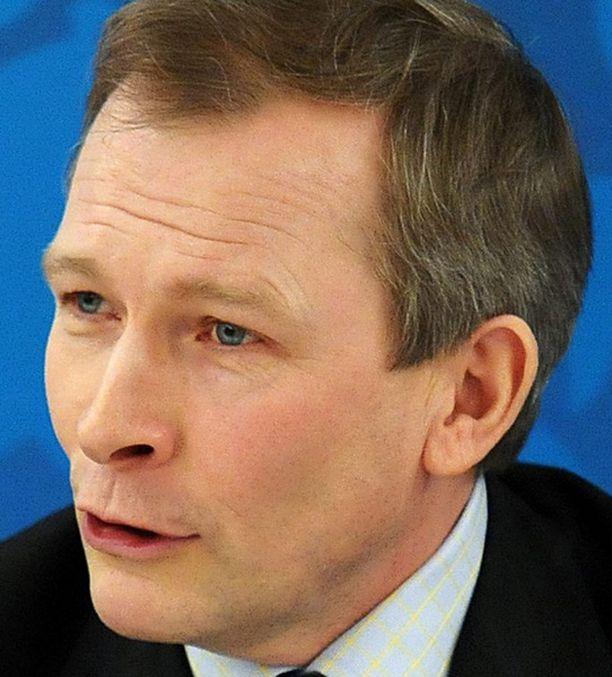 SIELUNVELI. Risto E.J. Penttilä kertoo tulevansa Siimeksen kanssa hyvin toimeen.