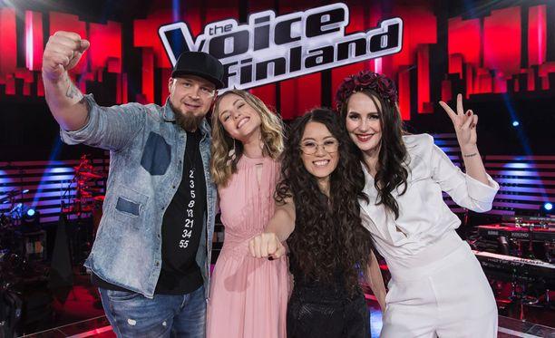 The Voice of Finlandin finaalijakso on parituntinen.