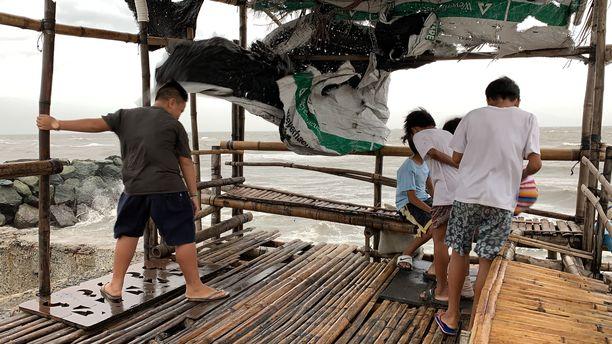 Taifuuni Kammuri on osunut Filippiineille.