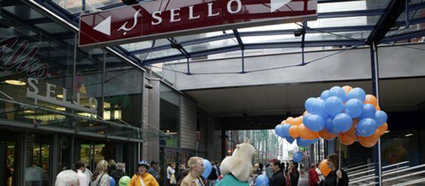 Sieppaus tapahtui kauppakeskus Sellossa sijaitsevan Prisman lapsiparkissa.