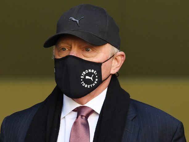 Boris Beckeriä syytetään omaisuuden salaamisesta.