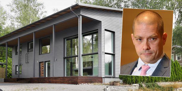Postin vt. toimitusjohtajan Turkka Kuusiston omakotitalo Vihdissä on myynnissä 468 000 eurolla.