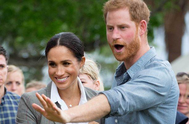 Prinssi Harryn ja herttuatar Meghanin matka on sisältänyt paljon hassuttelua ja läheisyyttä.