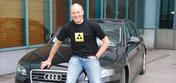 Kalle Palander sai sponsoriltaan käyttöön uuden Audin.
