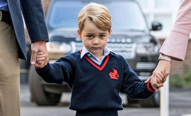 Prinssi George on prinssi Williamin ja herttuatar Catherinen esikoinen.
