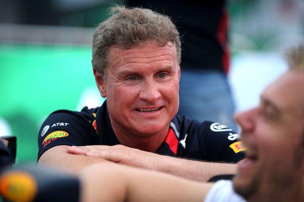 David Coulthard työskentelee yhä Red Bullin PR-tehtävissä.