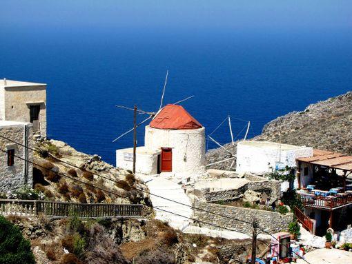 Myös Karpathosin saari on varteenotettava vaihtoehto.