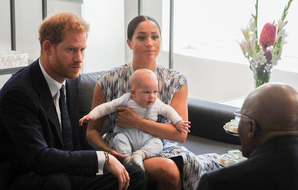 Prinssi Harry ja Sussexin herttuatar Meghan saivat esikoisensa keväällä 2019.