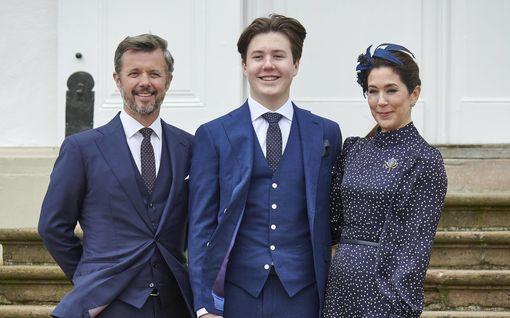 Tanskan prinssi Christian pääsi ripille: kauniit perhekuvat – poika on isäänsä pidempi