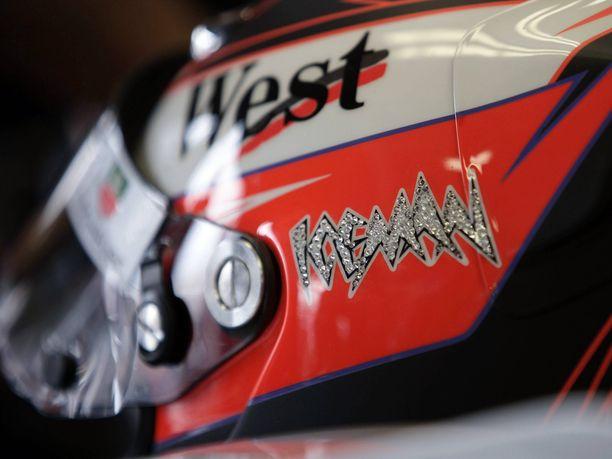 Kimi Räikkösen kypärän Iceman-teksti oli koristeltu timanteilla vuoden 2005 Monacon GP:ssä, jonka Räikkönen voitti. Uffe Tägtströmin mukaan timantit katosivat.