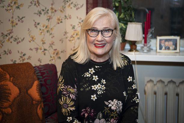 Maija-Liisa Peuhu on ollut mukana Salatut elämät -sarjassa sen alkuajoista saakka.