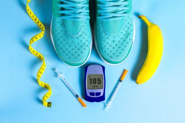Tyypin 2 diabeteksessa liikunta voi vähentää lääkityksen tarvetta.