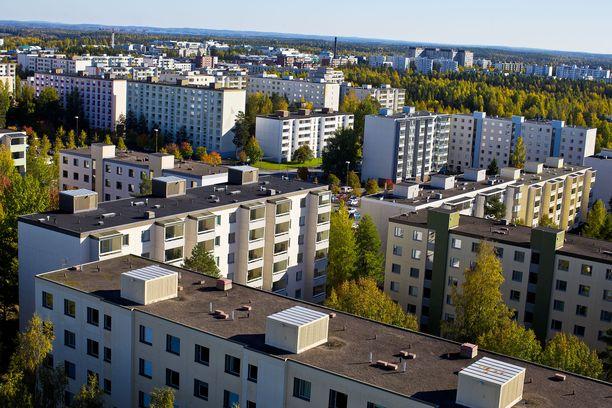 Hervanta oli yksi Tampereen huono-osaisista lähiöistä.