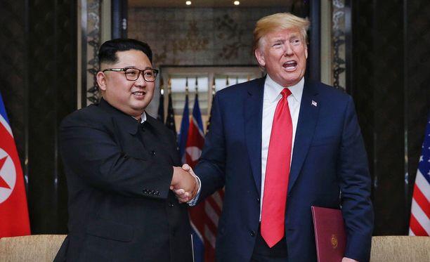 Pohjois-Korean johtaja Kim Jong-un ja USA:n presidentti Donald Trump tapasivat viime viikolla Singaporessa.