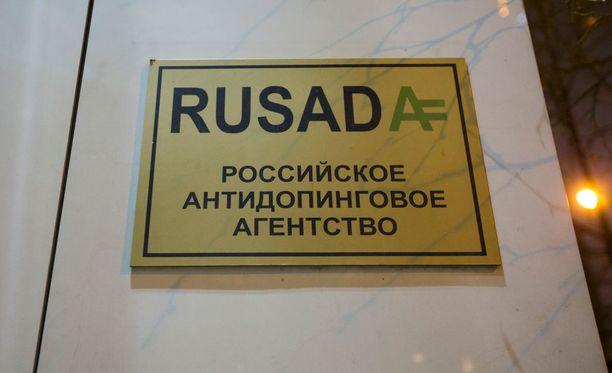 Venäjän antidopingtoimisto Rusada on ollut kohun keskiössä.