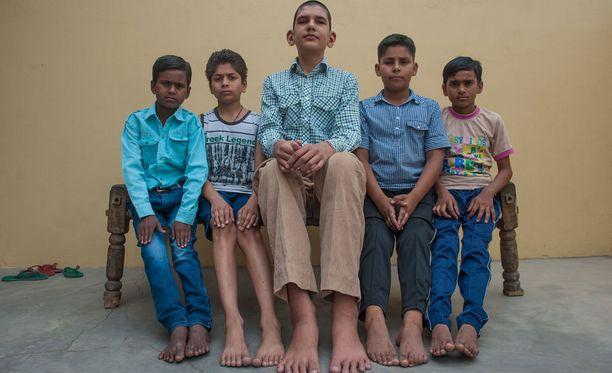 """Pihaleikeissä Karam on """"kingi"""", koska hän voittaa mennen tullen erilaiset kisat ja kiipeilyt."""