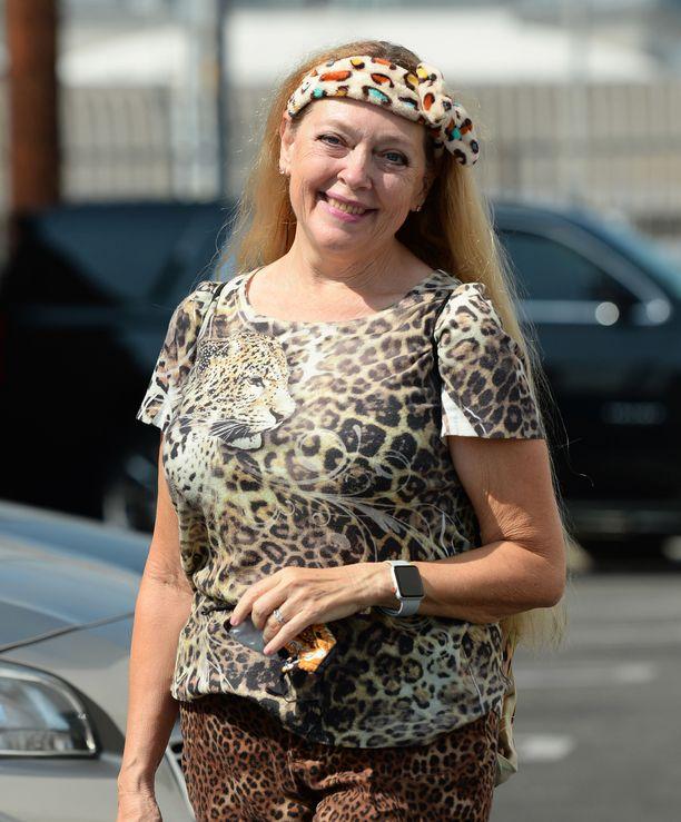 Carole Baskin on yksi Nettflixissä jättisuosion saavuttaneen Tiger King -elokuvan tähdistä.