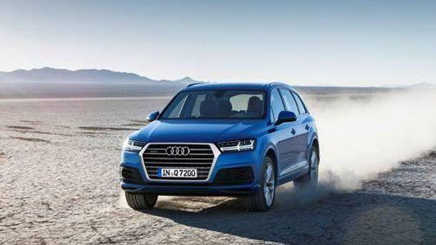Tänä vuonna nähdään Audi Q7. Uusi Q8 saa tekniikan Q7:sta, mutta muoto on coupemainen kuin BMW X6:ssa.