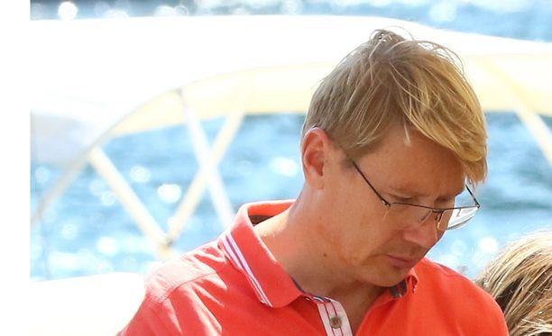 Mika Häkkinen reissasi Italiaan.