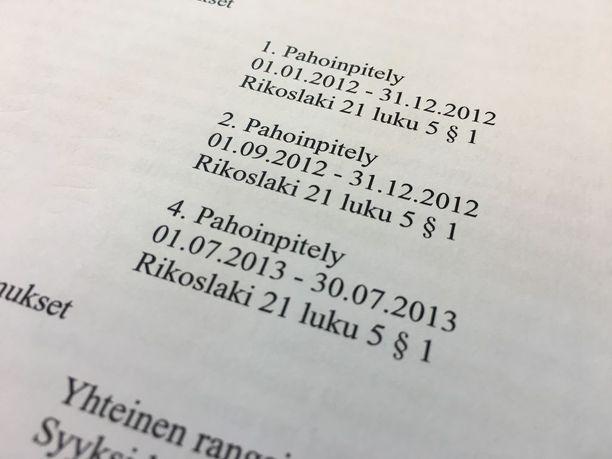 SDP:n kuntavaaliehdokas tuomittiin vuonna 2015 kolmesta lapseen kohdistuneesta pahoinpitelystä. Miehellä on myös aikaisempia tuomio vuodelta 2013.