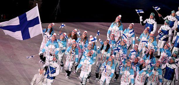Suomi osallistuu Pyeongchangin olympialaisiin runsaan sadan urheilijan voimin.
