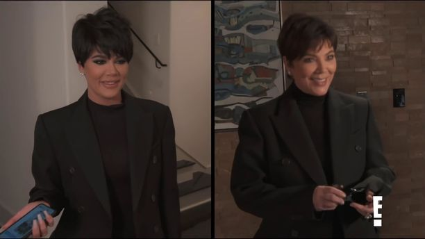 Khloé muistuttaa peruukissaan suuresti äitiään.