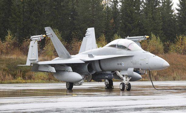 Suomi lähettää Horneteja Yhdysvaltoihin sotaharjoitukseen.