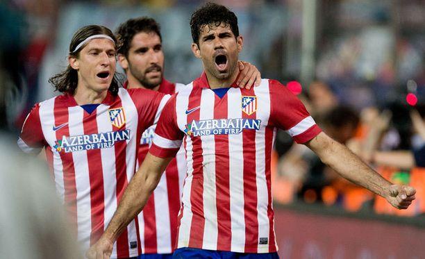 Atlético Madrid pelaa huikeaa kautta.
